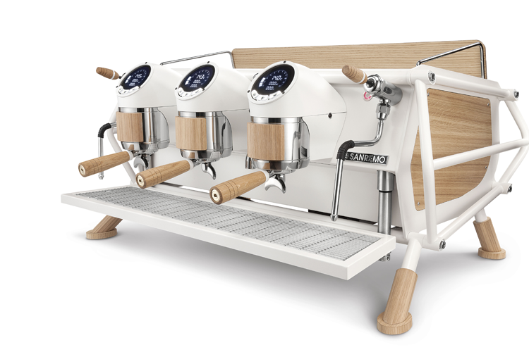 Sanremo Cafe Racer 2 Group  (White & Wood Standard Edition)